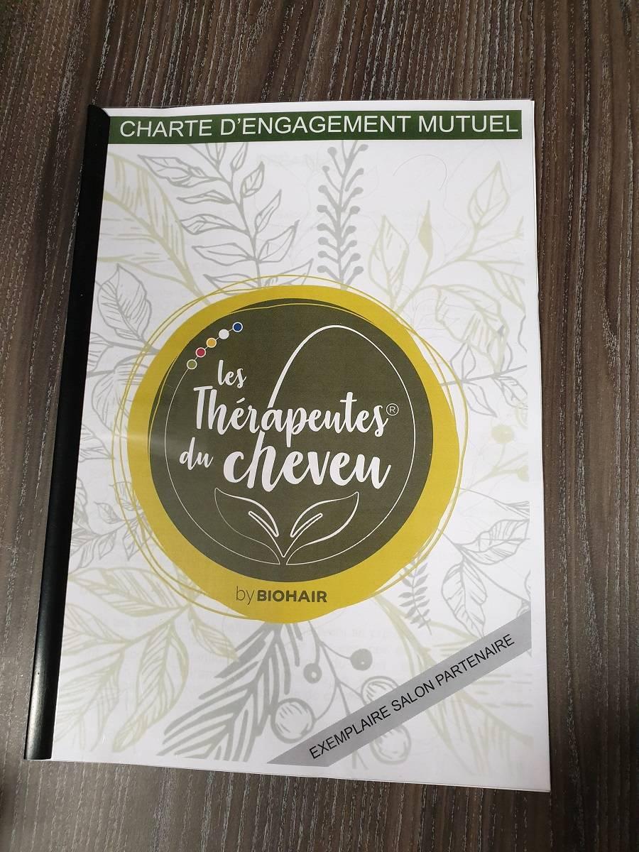 Charte d'engagement mutuel Les Thérapeutes du Cheveu